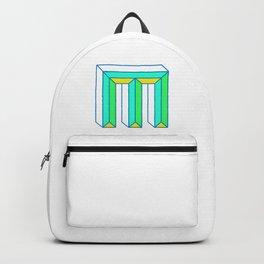 Letter M Backpack