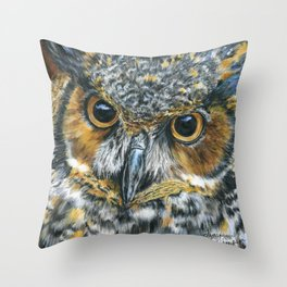 Octavious by Teresa Thompson Throw Pillow