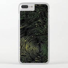1 Continuous Line Clear iPhone Case
