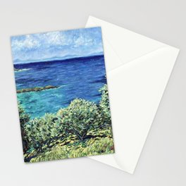 Olive Trees in Corfu Stationery Cards