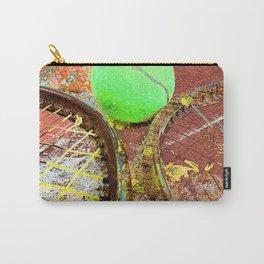 Tennis Art 3 Carry-All Pouch