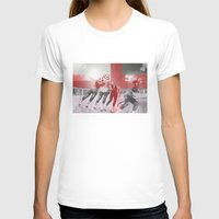 roller derby T-shirts featuring Punchtuation Roller Derby by Vin Zzep