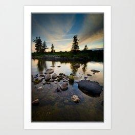 Lake of the Woods Art Print