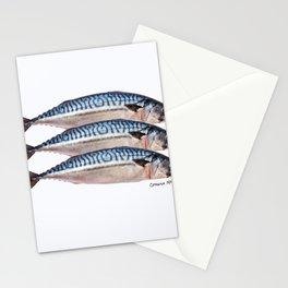 Fresh Cornish Mackerel Stationery Cards