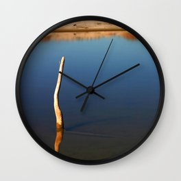 Stick In The Water Wall Clock