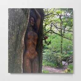 Tree Goddess Metal Print