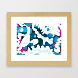 Blue Day Framed Art Print