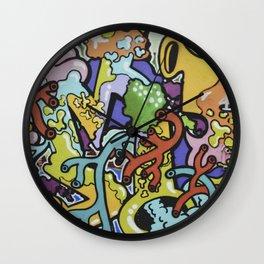 Street Art 2 Wall Clock