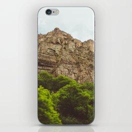 Spring Cliffs iPhone Skin