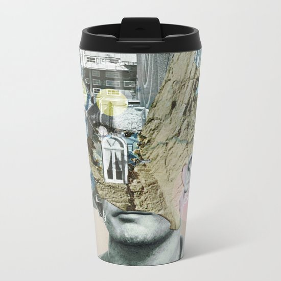 it´s all in your mind · Statue Metal Travel Mug