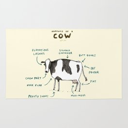 Anatomy of a Cow Rug