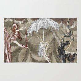 Midnight Circus: the Acrobats Rug