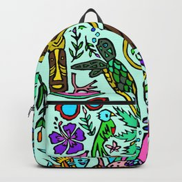 Tropics In Color Backpack