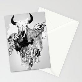 I Kill You Stationery Cards