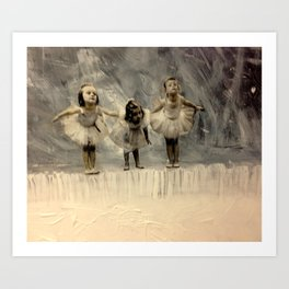 Tiny dancers Art Print