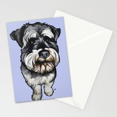 Barney the Miniature Schnauzer Stationery Cards