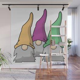 Minimalist Scandinavian Gnomes Wall Mural