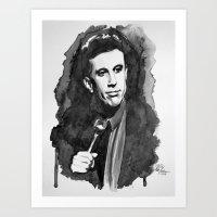 seinfeld Art Prints featuring Jerry Seinfeld by Vic Yambao Art