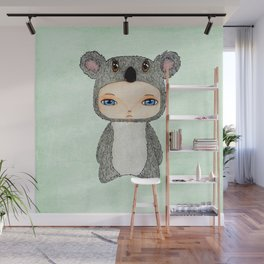 A Boy - Koala Wall Mural