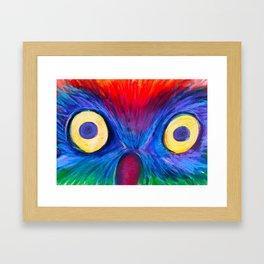 Surprised Owl  Framed Art Print