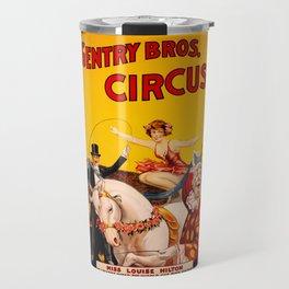 Circus Poster Travel Mug