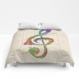 Treble Clef Comforters