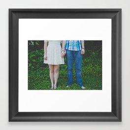 Together Forever Framed Art Print