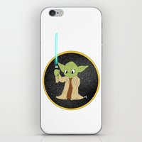 yoda iPhone & iPod Skins featuring Yoda by alittlecartoonie