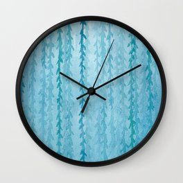 Blue Willow Wall Clock