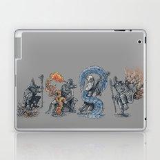 earth - fire - water - (bad) air Laptop & iPad Skin