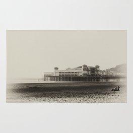 Weston-Super-Mare Beach Rug