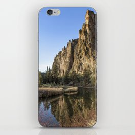 Cliffs Above Crooked River iPhone Skin
