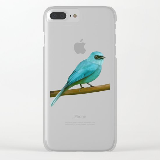 Flycatcher Clear iPhone Case