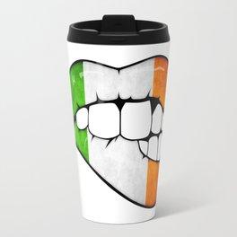 Ireland lips Travel Mug