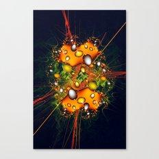 Galaxy Explosion Canvas Print