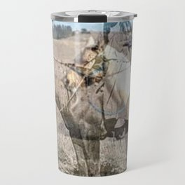 She never rides alone Travel Mug