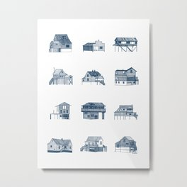 Houses of Lupus, Missouri Metal Print
