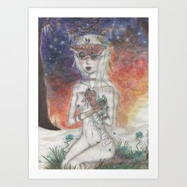 All the Delicate Things Art Print