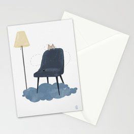 Cat vs. fly - ep. 3 Stationery Cards