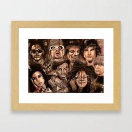 The 27 club Framed Art Print