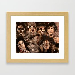 The 27 club Framed Art Print