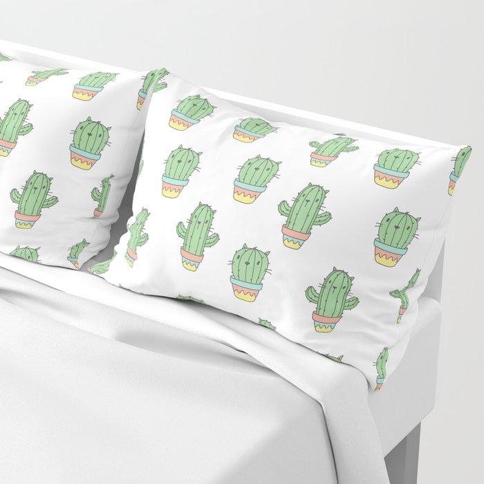 Cat-cus Pillow Sham