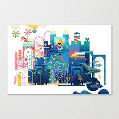 Royals (Sea) Canvas Print