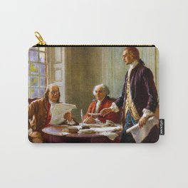 Writing The Declaration of Independence Carry-All Pouch