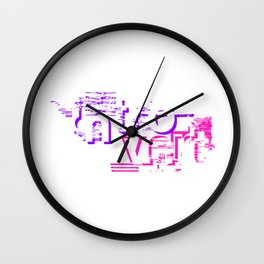 Introvert - Original gift for Introverts Unite Wall Clock