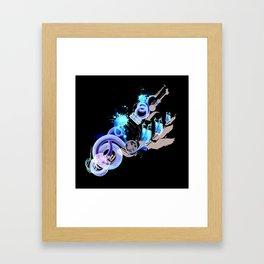 SNAKES AND LADDERS Framed Art Print