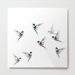 Flying colors Metal Print