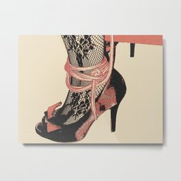 The Heels, The Ropes, Let's play Dirty 2 Metal Print