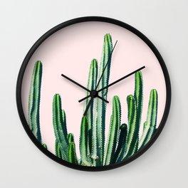 Cactus V6 #society6 #decor #buyart Wall Clock