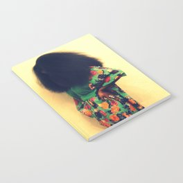 Afro : Vintage Style Notebook